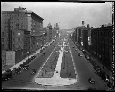 Rapid Transit Photographs -- Box 20, Folder 24 (March 5, 1928 - April 16, 1928) -- negative, 1928-04-16, 3:17 P.M.