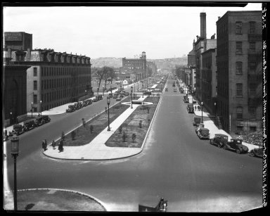 Rapid Transit Photographs -- Box 20, Folder 25 (April 16, 1928 - April 26, 1928) -- negative, 1928-04-26, 11:55 A.M.
