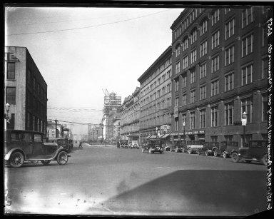 Rapid Transit Photographs -- Box 20, Folder 26 (April 27, 1928 - May 4, 1928) -- negative, 1928-04-27, 9:10 A.M.