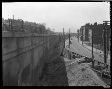 Rapid Transit Photographs -- Box 20, Folder 26 (April 27, 1928 - May 4, 1928) -- negative, 1928-05-04, 9:40 A.M.