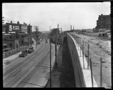 Rapid Transit Photographs -- Box 20, Folder 32 (July 11, 1928 - July 14, 1928) -- negative, 1928-07-14, 9:55 A.M.