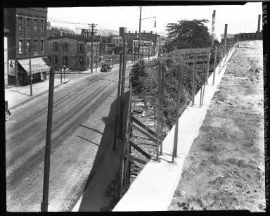 Rapid Transit Photographs -- Box 20, Folder 33 (July 11, 1928 - July 14, 1928) -- negative, 1928-07-14, 10:07 A.M.