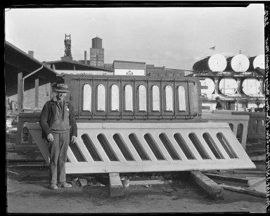 Rapid Transit Photographs -- Box 20, Folder 35 (November 15, 1928 - November 22, 1928) -- negative, 1928-11-22, 3:35 P.M.