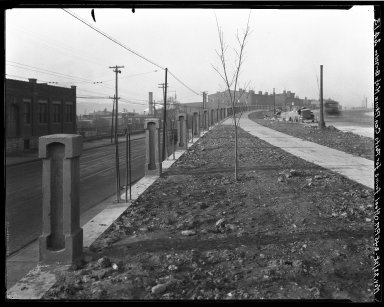 Rapid Transit Photographs -- Box 20, Folder 35 (November 15, 1928 - November 22, 1928) -- negative, 1928-11-22, 3:45 P.M.