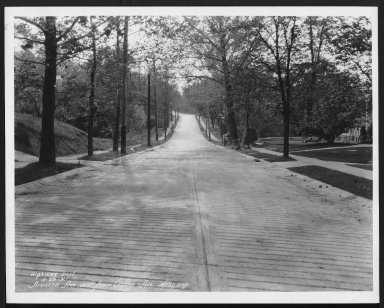 Street Improvement Photographs -- Box 21, Folder 04 (Amazon Avenue) -- print, 1931-05-29