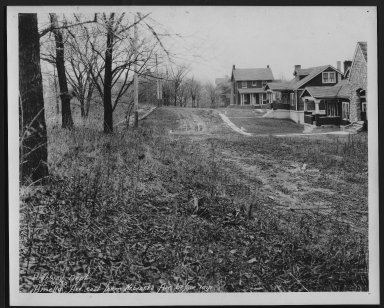 Street Improvement Photographs -- Box 21, Folder 05 (Amelia Avenue) -- print, 1930-12-08