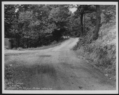 Street Improvement Photographs -- Box 21, Folder 08 (Arnold Avenue) -- print, 1932-08-23