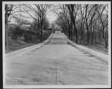 Street Improvement Photographs -- Box 21, Folder 08 (Arnold Avenue) -- print, 1933-02-17