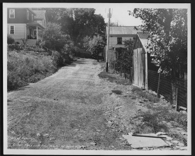 Street Improvement Photographs -- Box 21, Folder 09 (Arthur Place) -- print, 1932-07-15