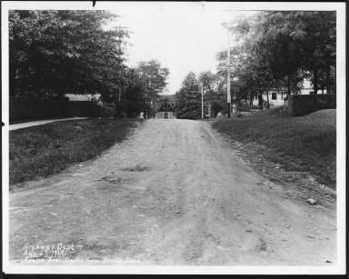 Street Improvement Photographs -- Box 21, Folder 12 (Azalea Avenue) -- print, 1929-08-23
