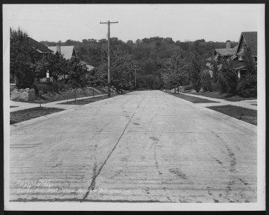 Street Improvement Photographs -- Box 21, Folder 13 (Baker Street) -- print, 1930-08-19