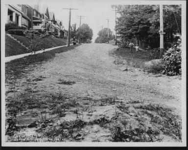 Street Improvement Photographs -- Box 21, Folder 14 (Ballard Avenue) -- print, 1929-08-23