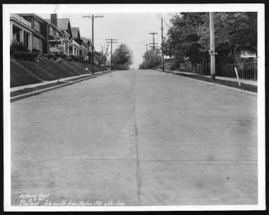 Street Improvement Photographs -- Box 21, Folder 14 (Ballard Avenue) -- print, 1930-05-05