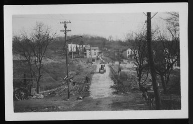 Street Improvement Photographs -- Box 21, Folder 16 (Baltimore Avenue) -- print, 1929-12-06