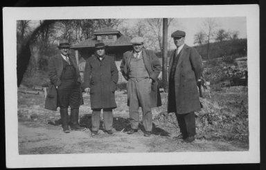 Street Improvement Photographs -- Box 21, Folder 16 (Baltimore Avenue) -- print, 1929-12-06