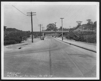 Street Improvement Photographs -- Box 21, Folder 20 (Bates Avenue) -- print, 1930-07-21