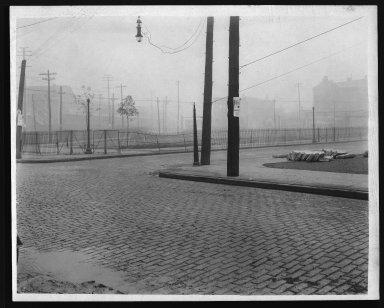 Street Improvement Photographs -- Box 21, Folder 22 (Beaumont Place) -- print, 1928
