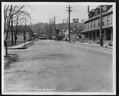 Street Improvement Photographs -- Box 21, Folder 25 (Beechmont Avenue) -- print, 1930-04-03