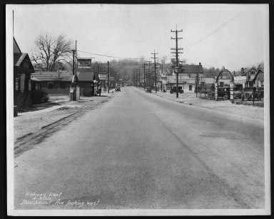 Street Improvement Photographs -- Box 21, Folder 25 (Beechmont Avenue) -- print, 1930-04-03