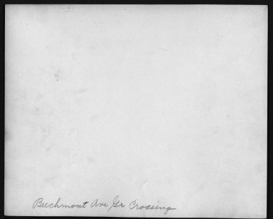 Street Improvement Photographs -- Box 21, Folder 25 (Beechmont Avenue) -- print, 1931-01-26 (back of photograph)
