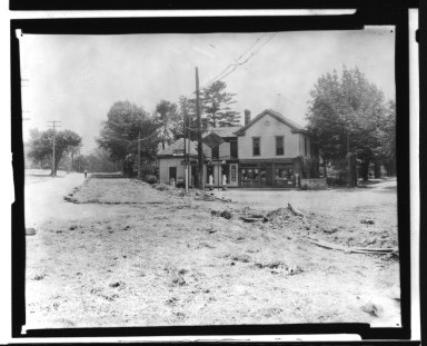 Street Improvement Photographs -- Box 21, Folder 25 (Beechmont Avenue) -- print, 1931
