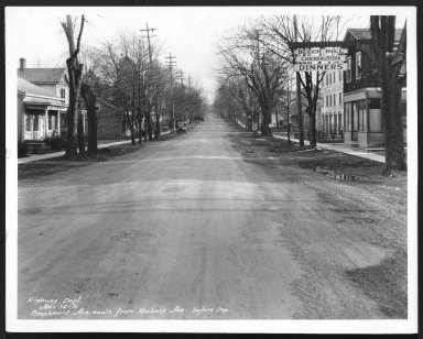 Street Improvement Photographs -- Box 21, Folder 26 (Beechmont Avenue) -- print, 1931-03-12
