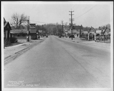 Street Improvement Photographs -- Box 21, Folder 27 (Beechmont Avenue) -- print, 1930-04-03