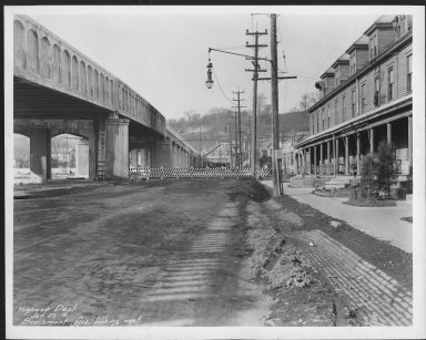 Street Improvement Photographs -- Box 21, Folder 27 (Beechmont Avenue) -- print, 1931-01-26