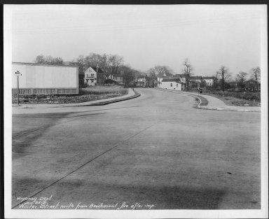 Street Improvement Photographs -- Box 21, Folder 27 (Beechmont Avenue) -- print, 1931-01-25