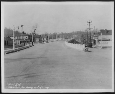 Street Improvement Photographs -- Box 21, Folder 28 (Beechmont Avenue) -- print, 1931-01-26