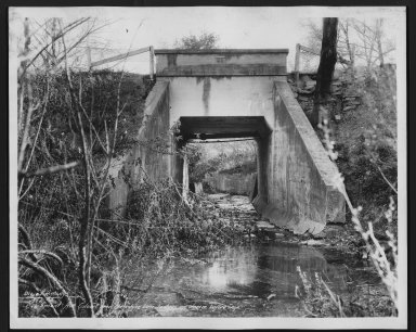 Street Improvement Photographs -- Box 21, Folder 28 (Beechmont Avenue) -- print, 1934-05-07