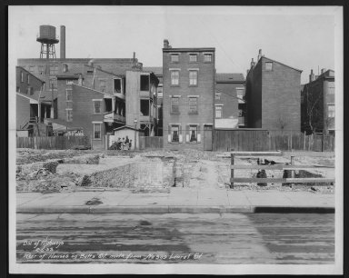 Street Improvement Photographs -- Box 21, Folder 31 (Betts Avenue) -- print, 1933-02-05