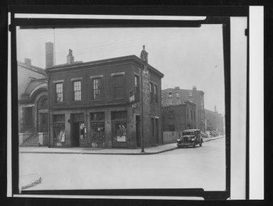 Street Improvement Photographs -- Box 21, Folder 31 (Betts Avenue) -- print, 1936