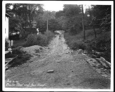 Street Improvement Photographs -- Box 21, Folder 35 (Bouton Street) -- print, 1927-08-31