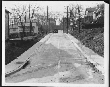 Street Improvement Photographs -- Box 21, Folder 35 (Bouton Street) -- print, 1928