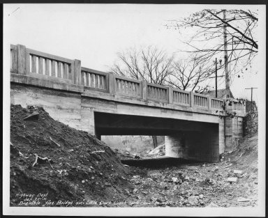 Street Improvement Photographs -- Box 21, Folder 36 (Bramble Avenue) -- print, 1931-01-25