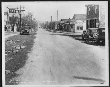 Street Improvement Photographs -- Box 21, Folder 38 (Bramble Avenue) -- print, 1929-03-02