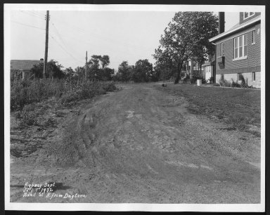 Street Improvement Photographs -- Box 21, Folder 43 (Buell Street) -- print, 1932-07-01