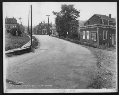 Street Improvement Photographs -- Box 21, Folder 48 (Carll Street) -- print, 1935-06-13