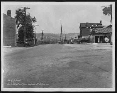 Street Improvement Photographs -- Box 21, Folder 48 (Carll Street) -- print, 1935-06-13