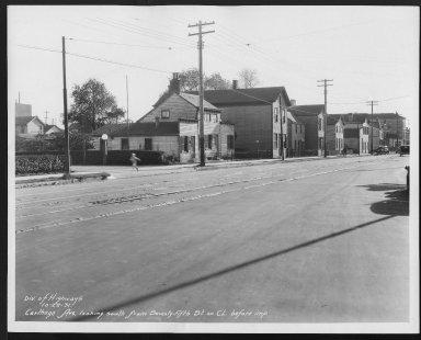 Street Improvement Photographs -- Box 21, Folder 49 (Carthage Avenue) -- print, 1931-10-22