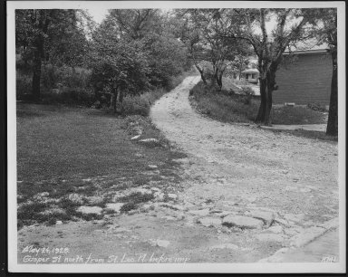 Street Improvement Photographs -- Box 21, Folder 50 (Casper Street) -- print, 1929-05-24