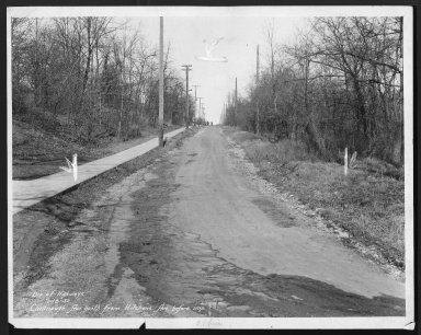 Street Improvement Photographs -- Box 21, Folder 51 (Cavanaugh Street) -- print, 1932-01-18