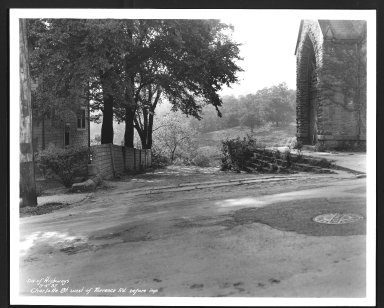 Street Improvement Photographs -- Box 21, Folder 55 (Charlotte Street) -- print, 1937-09-04