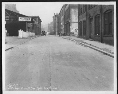 Street Improvement Photographs -- Box 21, Folder 57 (Cheapside (East)) -- print, 1928-04-02
