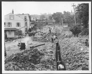 Street Improvement Photographs -- Box 21, Folder 58 (Clara Avenue) -- print, 1930-05-19
