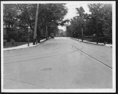 Street Improvement Photographs -- Box 21, Folder 62 (Clinton Springs) -- print, 1926