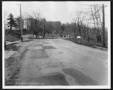 Street Improvement Photographs -- Box 21, Folder 66 (Colerain Avenue) -- print, 1934-04-19