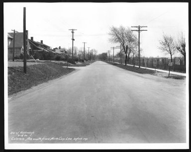 Street Improvement Photographs -- Box 21, Folder 66 (Colerain Avenue) -- print, 1934-03-19
