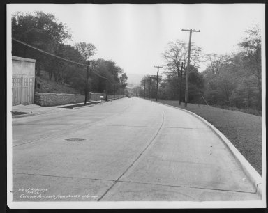 Street Improvement Photographs -- Box 21, Folder 68 (Colerain Avenue) -- print, 1936-05-13